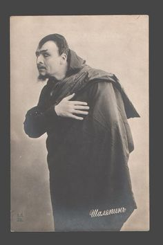 Russian singer/actor Feodor Chaliapin as Mephistopheles.