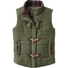 Mens Classic Padded Vest Outdoor Puffer Vests