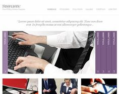 Simplistic Website Template Web Site Design Arizona| #WebDesignArizona #webdesign #Website