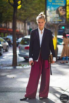 Paris SS 2017 Street Style: Claire Beermann