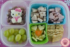 mini lunchable. quick and easy to make! #EasyLunchboxes