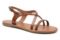 Les Tropéziennes par M Belarbi Hanano (Marron) - Sandales et nu-pieds chez Sarenza (212687)