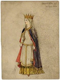 Matilda was the smallest Queen of England.  Her height never exceeded beyond five feet