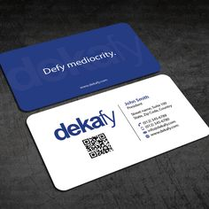 Performance Marketing Company Looking For Clean Yet Catchy Business Card Design By C