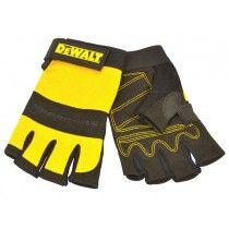 DeWalt Synthetic Padded Leather Palm Gloves , Dewalt , Rapid Online - Rapid Electronics Ltd. Safety Workwear, Dewalt Tools, Must Have Tools, Work Trousers, Garage Tools, Work Gloves, Hand Tools, Work Wear, Fashion Brands
