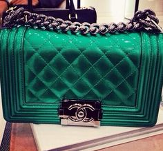 Gorgeous color quilted Chanel
