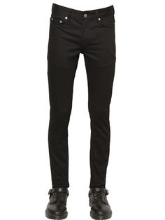 $189, BLK DNM 16cm Skinny Stretch Cotton Denim Jeans. Sold by LUISAVIAROMA. Click for more info: https://lookastic.com/men/shop_items/387932/redirect
