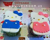 I want - NOW - :) 1 Hello Kitty Cookie/Fondant Cutter. $3.99, via Etsy.