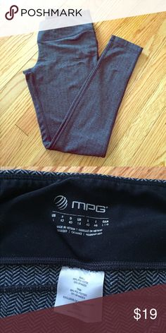 MPG women's workout pants Worn several times but great conditions. Super cozy mpg Pants Track Pants & Joggers