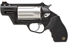 The Tarus Public Defender.  It shoots both .45 rounds and .410 shells.  You never know when you might need back up.  :)