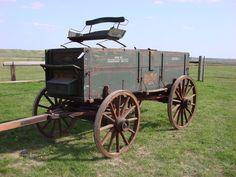 *♥* Old Buck Board Wagon