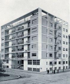 Casa Rustici. Milan, Italy 1933.