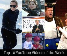 Top 10 YouTube Videos of the Week   Vidooly Weekly Roundup