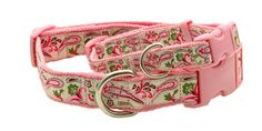 Hundehalsband Paisley pink - for real girls♥
