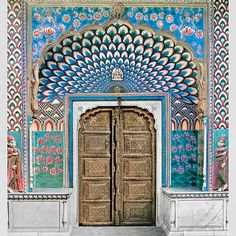 Door of Shiva | jaipur | india | tigerlily swimwear