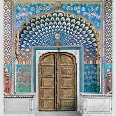 Door of Shiva | jaipur | india | tigerlily swimwear