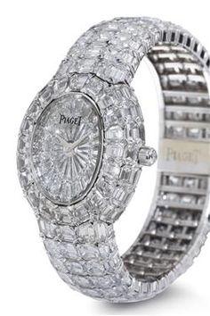 "PIAGET   A limited-edition ""Kanthara"" diamond-set wristwatch"