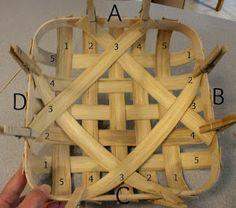 A Hand-Woven Life: Tobacco Basket Tutorial Basket Weaving, Hand Weaving, Tobacco Basket Decor, Sisal, Crafts To Make, Diy Crafts, Making Baskets, Basket Crafts, Basket Decoration