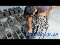 Forma Manual para Fabricação de Blocos de Concreto - Ergonômica