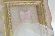framed sweetheart dress