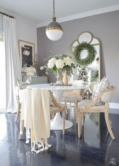 Decked & Styled Christmas Tour – A Christmas Dining Room & Bedroom