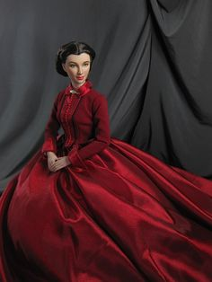 A Scarlett Reverie Dolls House Figures, Tomorrow Is Another Day, Collector Dolls, Scarlet, Fashion Dolls, Portrait, Celebrities, Lady, Womens Fashion