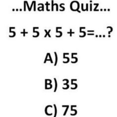 Repost | comment with the answer. #math #quiz #brainfood #games ...