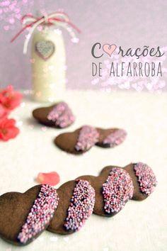 Sweet Gula: Corações de Alfarroba