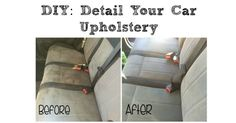 Diy Detail Your Cars Upholstery Car Upholstery Cleaning Tips Car Upholstery Cleaner Car How To Diy Car Upholstery Stain Remover Cleaning Car Upholstery Diy Detail Your Cars Upholstery Diy Car Upholstery Carpet Detailing Ft Turtle… Car Upholstery Cleaner, Cleaning Car Upholstery, Seat Cleaner, Auto Upholstery, Diy Car Cleaning, Household Cleaning Tips, Diy Cleaning Products, Car Products, Clean Car Seats