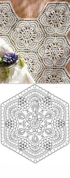 Crochet Hexagon Shape