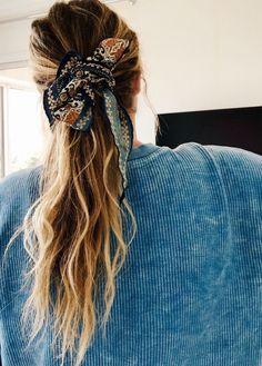 Hair scarf   ponytail