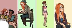 "okay-thislooks-bad: "" Barbara Gordon + Batgirl of Burnside Outfits "" Manga Comics, Dc Comics, Batgirl Of Burnside, Babs Tarr, Barbara Gordon, Fanart, Wattpad, Gurren Lagann, Super Hero Costumes"