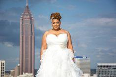 Real Weddings {Atlanta}: Jessica & Joel! - Blackbride.com