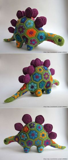 How To Crochet African Flower Pentagon [Free Crochet Pattern and Video Tutorials] African Flower Mofif for Amigurumi, Crochet Toys and Animals