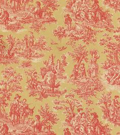 Upholstery Fabric-Waverly Charmed Life Gold