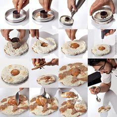 """""""Cioccolato bianco caco, nocciola e tartufo bianco…"""" dello chef Pasquale Laera del Ristorante La rei di Bergamo  #lamadia #lamadiatravelfood #food"""