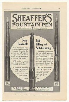 Sheaffer's Fountain Pen