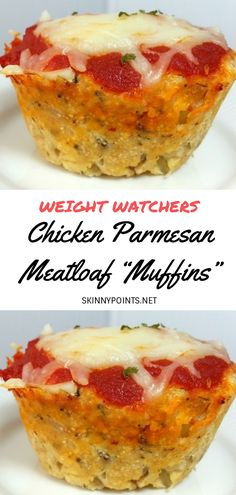 Easy Weight Watchers Meatloaf Recipes With SmartPoints? Giving 8 Weight Watchers Meatloaf Freestyle Points including Meatloaf Muffins, meatloaf Pizza and weight watchers meatloaf turkey. These easy freestyle ww meatloaf recipes are damn healthy. Weight Watchers Meatloaf, Weight Watchers Pizza, Weight Watchers Breakfast, Weight Watcher Dinners, Weight Watcher Desserts, Weight Watchers Appetizers, Chicken Parmesan Meatloaf, Chicken Parmesan Recipes, Ground Chicken Meatloaf
