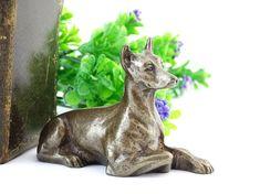 Pointer - Brass Pointer Figurine - Dog Figurine - Collectible Brass Figurine - Vintage Brass Dog - Hunting dog statue - Pointer lovers