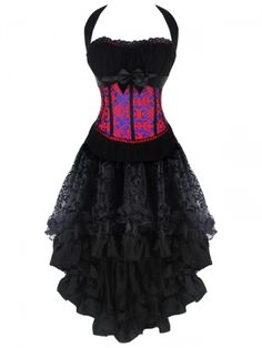 14a26b92d804b Burvogue Women Steampunk Corsets Dress Vintage Bustier Top Gothic Overbust  Corset Dress Waist Corset Sexy Lace Waist Trainer Oh Yeah Visit us
