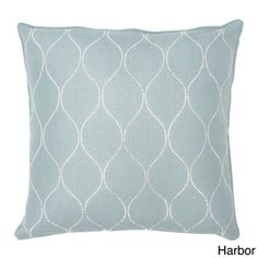 Darcy Faux Feather Filled Diamond 20-inch Square Throw Pillow | Overstock™ Shopping - Great Deals on Thro Throw Pillows