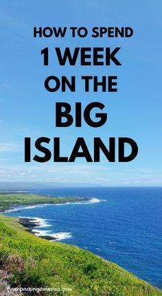 Big Island Hawaii vacation ideas with Big Island travel tips. Perfect 7 days o Hawaii Vacation, Hawaii Travel, Beach Trip, Vacation Trips, Vacation Ideas, Hawaii Trips, Hawaii Volcanoes National Park, Volcano National Park, Travel Destinations Beach