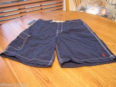 Men's Polo Ralph Lauren swim shorts surf trunks navy 4177633 SSSW $59.50 NEW NWT