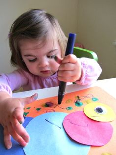 caterpillar craft for toddlers
