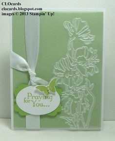 Caring Impressions by CLOcards - Cards and Paper Crafts at Splitcoaststampers