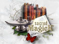 "Sacred Magick Esoteric Library is a online repository for ""occult, sorcery, spirit evocation, magick, esoteric, arcane, and Spiritual instructions in the world."""