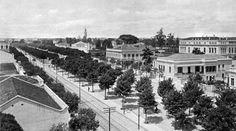Guilherme Gaensly  | Av. Tiradentes | 1901-1910 | 13878/NRF | Acervo de Fotografia do Museu da Cidade