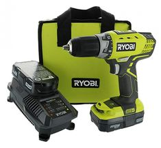 Ryobi P1811 One+ Compact Drill Camping Cabins, Go Camping, Things To Buy, Stuff To Buy, Quebec City, Long Island, Camping World, National Park Camping, Tools