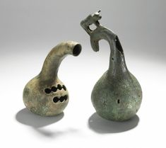 These musical instruments from China are made of bronze and from the 1st century…