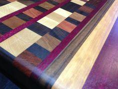 End Grain Edge Grain Cutting Board Chopping Boards, Wood Cutting Boards, End Grain Cutting Board, Butcher Block Cutting Board, Renegade Craft Fair, Pattern Cutting, Charcuterie Board, Herringbone Pattern, Woodworking Ideas